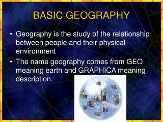 BASIC GEOGRAPHY