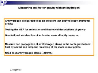 Measuring antimatter gravity with antihydrogen