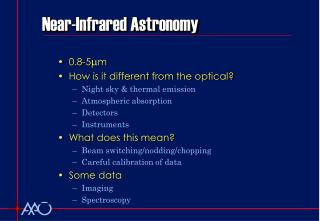 Near-Infrared Astronomy