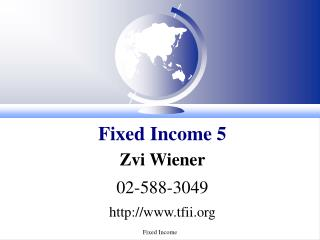 Fixed Income 5