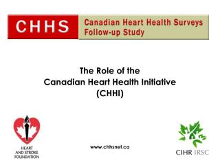The Role of the  Canadian Heart Health Initiative (CHHI) chhsnet