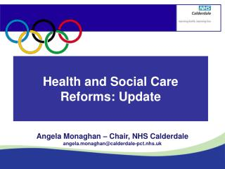 Health and Social Care Reforms: Update
