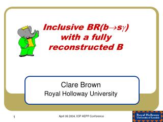 Inclusive BR(b  s )  with a fully reconstructed B