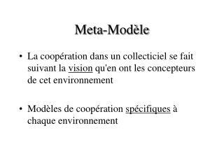 Meta-Modèle
