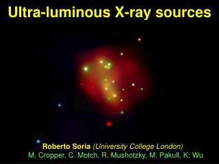 Ultra-luminous X-ray sources