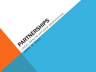P artnerships