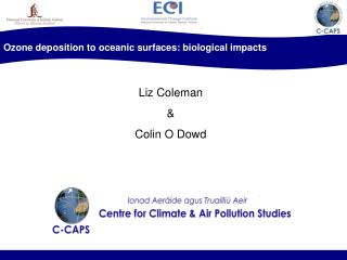 Ozone deposition to oceanic surfaces: biological impacts