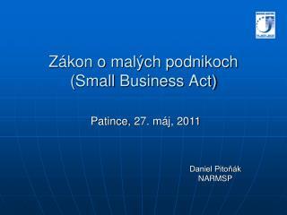 Zákon o malých podnikoch ( Small Business Act )