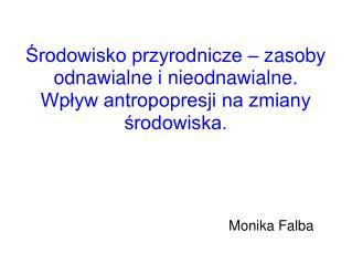 Monika Falba