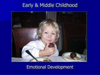 Early  Middle Childhood