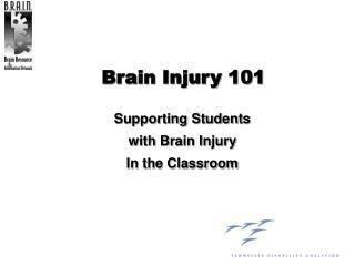 Brain Injury 101