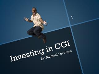 Investing in CGI