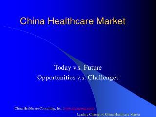 China Healthcare Market