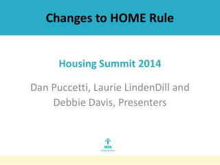 Changes to HOME Rule