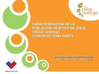 Secretaría Ejecutiva de Protección Social – MIDEPLAN – Oct. 2008
