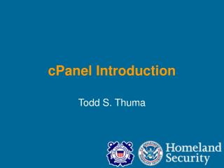 cPanel Introduction