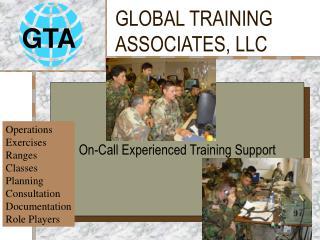 GLOBAL TRAINING ASSOCIATES, LLC