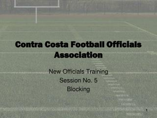 Contra Costa Football Officials Association