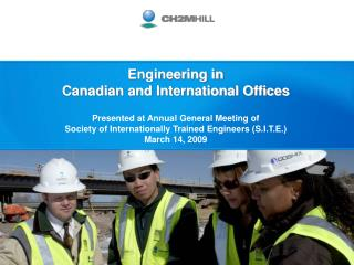 Comparing Canadian and International  Engineering Offices: