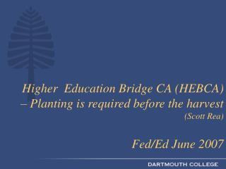 tion Bridge CA HEBCA