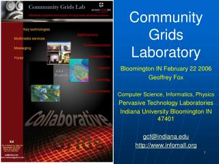 Community Grids Laboratory