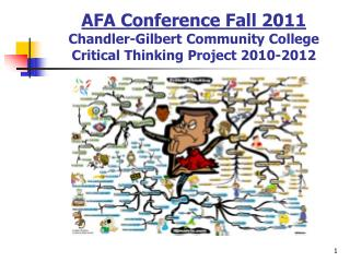 AFA Conference Fall 2011 Chandler-Gilbert Community College Critical Thinking Project 2010-2012