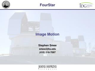 Image Motion