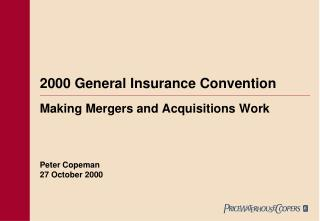 2000 General Insurance Convention