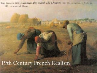 19th Century French Realism