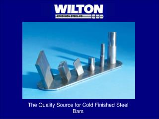 The Quality Source for Cold Finished Steel Bars