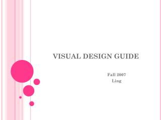 VISUAL DESIGN GUIDE