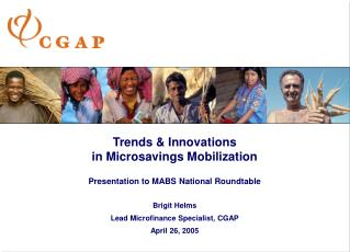 Trends & Innovations  in Microsavings Mobilization