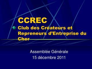 CCREC Club des Créateurs et Repreneurs d'Entreprise du Cher
