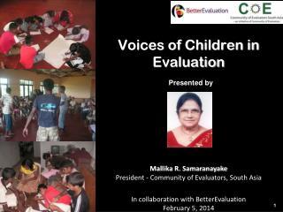 Voices of Children in Evaluation
