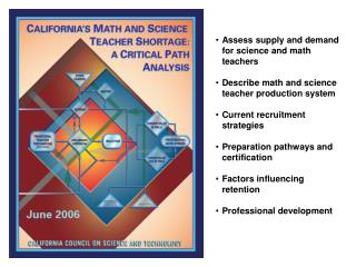 Assess supply and demand for science and math teachers