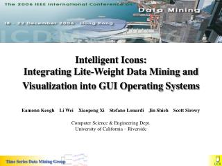 Intelligent Icons:  Integrating Lite-Weight Data Mining and Visualization into GUI Operating Systems