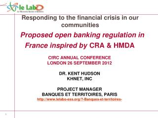Responding to the financial crisis in our communities