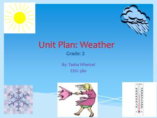 Unit Plan: Weather