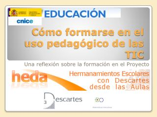Cómo formarse en el uso pedagógico de las TIC