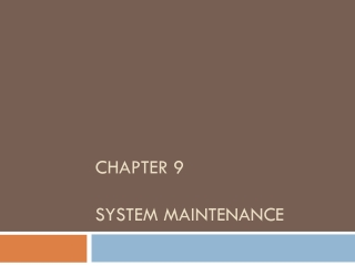 Chapter 14: Risks, Security, and Disaster Recovery