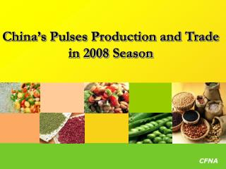 China's Pulses Production and Trade in 2008 Season