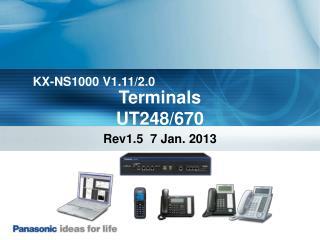 Terminals UT248/670