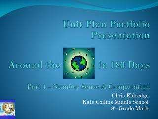 Unit Plan Portfolio Presentation