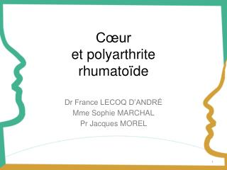 Cœur  et polyarthrite rhumatoïde