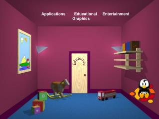 Applications        Educational     Entertainment     Graphics