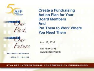 Create a Fundraising Action Plan for Your Board Members And  Put Them to Work Where You Need Them