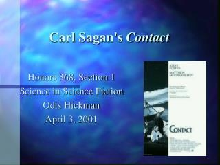 Carl Sagan's  Contact