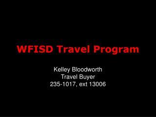 WFISD Travel Program