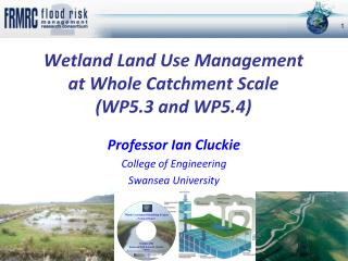 Wetland Land Use Management  at Whole Catchment Scale (WP5.3 and WP5.4)