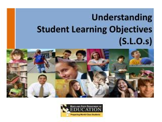 Student Learning Objectives (S.L.O.s) Agenda Outcomes